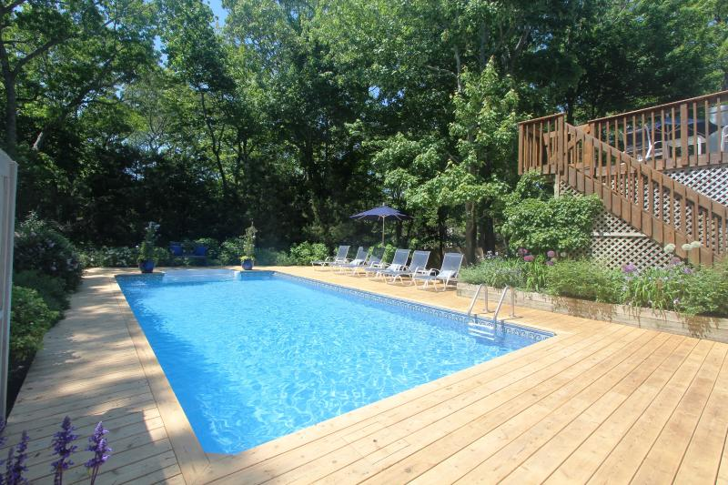 Lushly Landscaped Contemporary With Pool - Image 1 - East Hampton - rentals