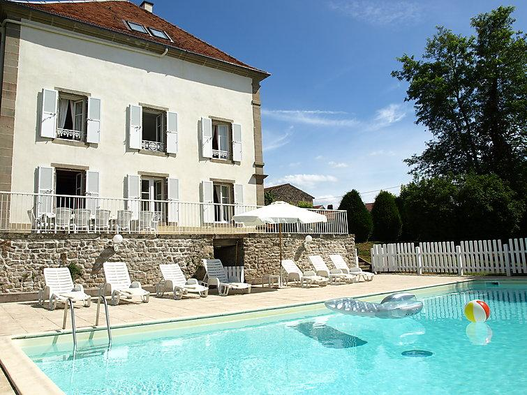 10 bedroom Villa in Saint Julien, Lorraine Vosges, France : ref 2084789 - Image 1 - Les Thons - rentals