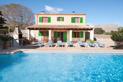 5 bedroom Villa in Cala San Vicente, Pollenca, Mallorca : ref 2086305 - Image 1 - Illetas - rentals