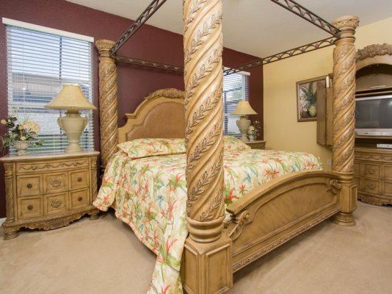 6 Bedroom Pool Home That Sleeps 14 Plus 2 Infants. 2640DIN - Image 1 - Orlando - rentals