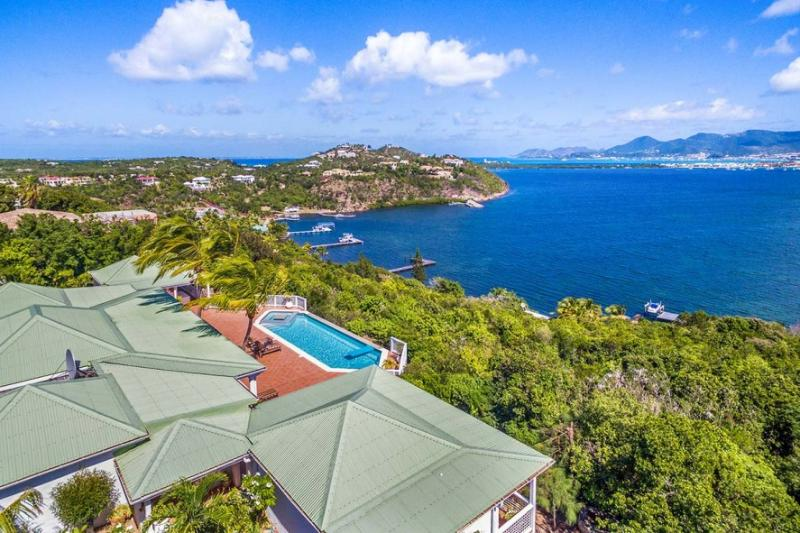 FIELDS OF AMBROSIA... charming hillside villa... privacy in each BR + views!... - Image 1 - Terres Basses - rentals