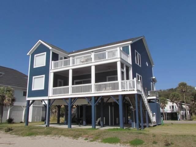 "704 Palmetto Blvd - ""Tropical Breeze"" - Image 1 - Edisto Beach - rentals"
