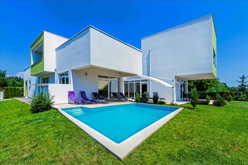 Modern Villa Kate with indoor heated pool - Image 1 - Zminj - rentals