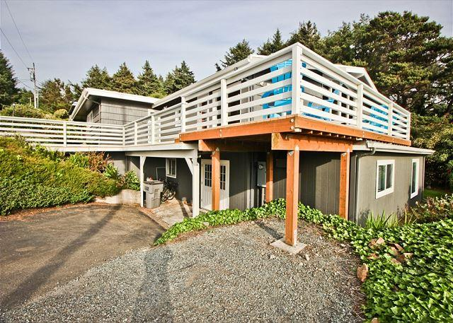 TREASURE ROCK - Newly remodeled, large, spectacular home with OCEAN View. - Image 1 - Manzanita - rentals