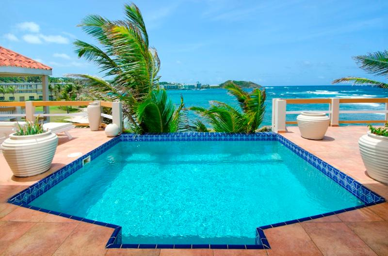 Direct Beach Access, Short Walk to Restaurants, Ideal for Couples, Private Pool - Image 1 - Dawn Beach - rentals