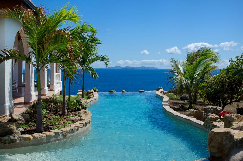 Villa Rosa - Ideal for Couples & Groups, Unique Swimming Pool, Ocean Views - Image 1 - Dawn Beach - rentals