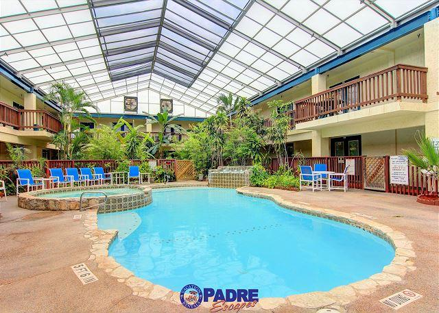 Indoor pool - Freshly updated Beachside Villa at great price and just yards from the Beach! - Corpus Christi - rentals