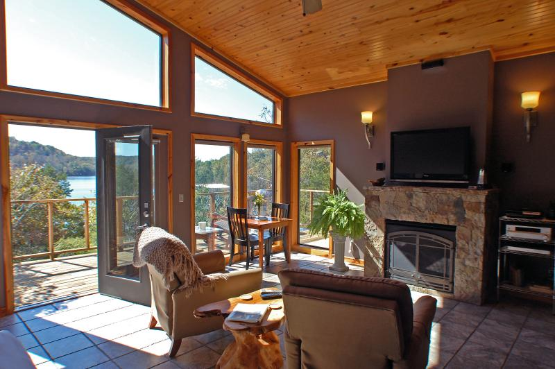 Beaver Lakefront Cabin - Upscale, Secluded Luxury - Image 1 - Eureka Springs - rentals