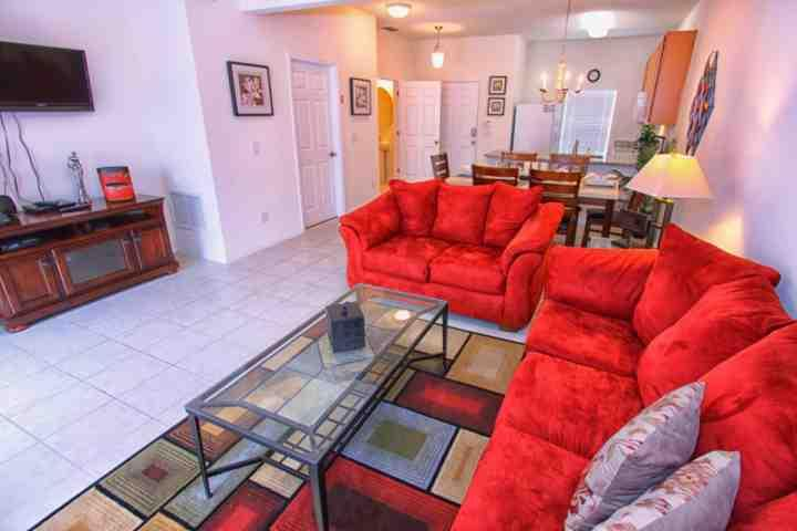 Plush Living Room Seating, Pool View and Flat Screen TV - 1030 Bella Vida - Kissimmee - rentals