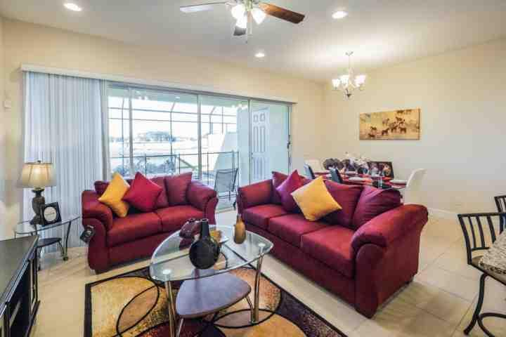 "Main Living Area w/48"" Flat Screen TV & Pool Access - 409 Festival - Davenport - rentals"