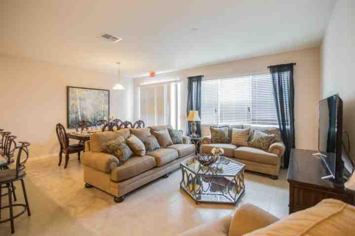 Living Area - View #2 - 5135 Compass Bay - Kissimmee - rentals