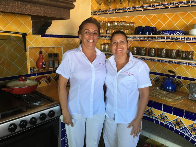 Your staff, Triny and Rosario, will make amazing meals for you and provide housekeeping duties. - Classic Mexican Villa offering Incredible Downtown Location and Stunning Views - Puerto Vallarta - rentals