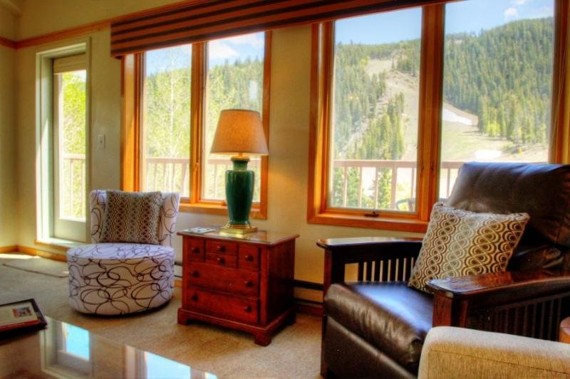 Living Room View - - Penthouse 2796 Slopeside Ski In Ski Out - Mountain House - Keystone - rentals