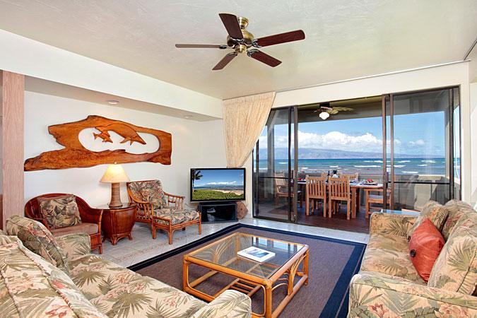 Unit 36 Ocean Front Prime Luxury 3 Bedroom Condo - Image 1 - Lahaina - rentals