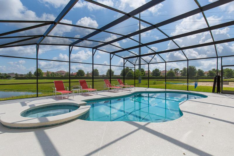 Beautiful Tranquil Pool - 6 Bed Lake View Golf Course Community (2293-PROV) - Orlando - rentals