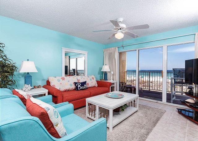 There has never been such a great combination of homey relaxatio - GD 208: Beautifully remodeled condo with additional updates to come in 2017 - Fort Walton Beach - rentals
