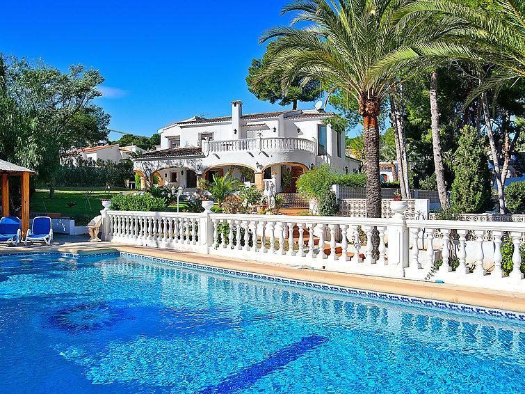 6 bedroom Villa in Moraira, Costa Blanca, Spain : ref 2015867 - Image 1 - La Llobella - rentals