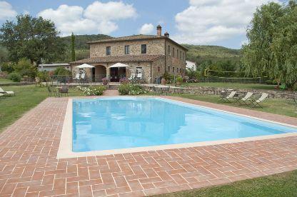 8 bedroom Villa in Cortona, Tuscany, Italy : ref 2020458 - Image 1 - Oliveto - rentals
