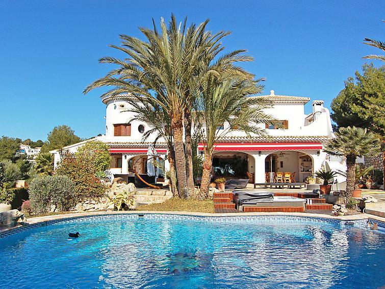 5 bedroom Villa in Moraira, Costa Blanca, Spain : ref 2026158 - Image 1 - La Llobella - rentals