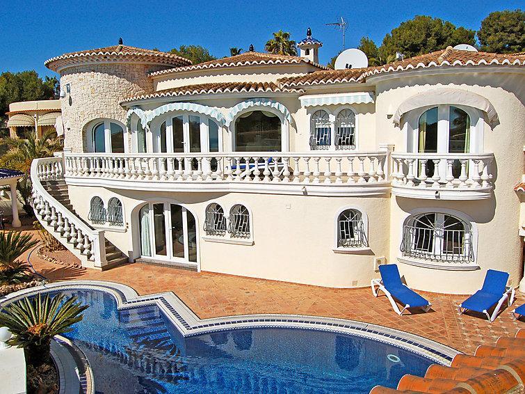 4 bedroom Villa in Moraira, Costa Blanca, Spain : ref 2026635 - Image 1 - La Llobella - rentals