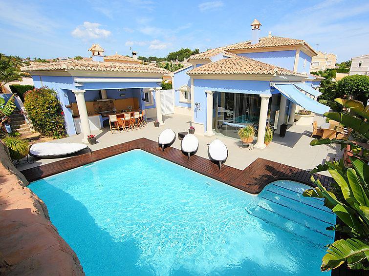 3 bedroom Villa in Calpe Calp, Costa Blanca, Spain : ref 2027903 - Image 1 - La Llobella - rentals