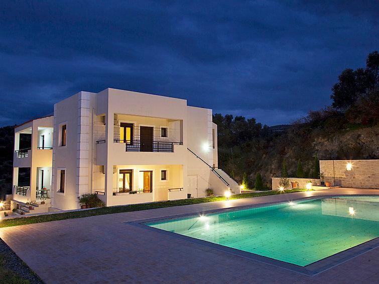 5 bedroom Villa in Kirianna, Rethymno, Rethymnon, Crete, Greece : ref 2098916 - Image 1 - Loutra - rentals