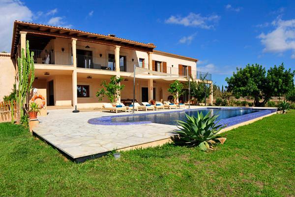 5 bedroom Villa in Cala D Or, S Horta, Mallorca, Mallorca : ref 2132383 - Image 1 - Cala d'Or - rentals
