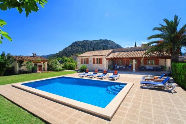3 bedroom Villa in Eu Madrava, Pollensa, Mallorca : ref 2132460 - Image 1 - Pollenca - rentals