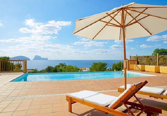 3 bedroom Villa in San Jose, Cala Codolar, Baleares, Ibiza : ref 2132809 - Image 1 - San Jose - rentals