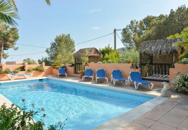 4 bedroom Villa in San Jose, Baleares, Ibiza : ref 2132808 - Image 1 - San Jose - rentals