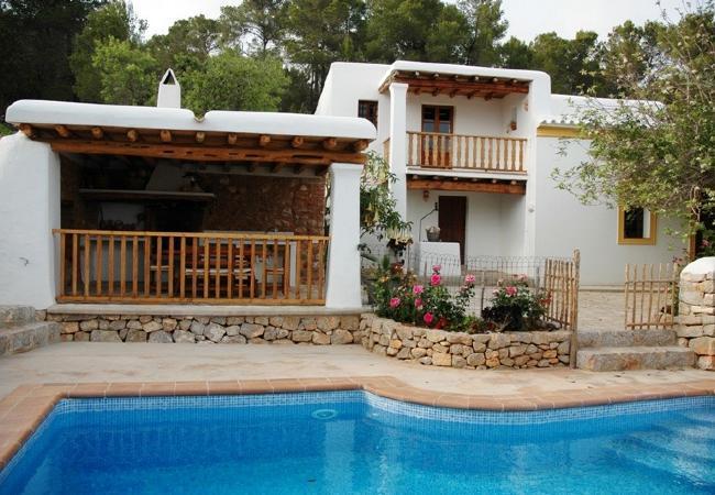4 bedroom Villa in Santa Eulalia Del Rio, Ibiza, Ibiza : ref 2132817 - Image 1 - Santa Eulalia del Rio - rentals