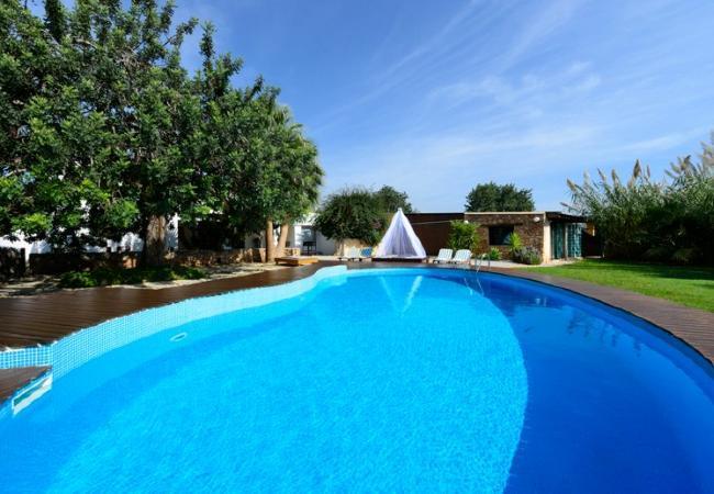 4 bedroom Villa in San Jose, Sant Jordi De Ses Salines, Ibiza, Ibiza : ref 2132816 - Image 1 - San Jose - rentals