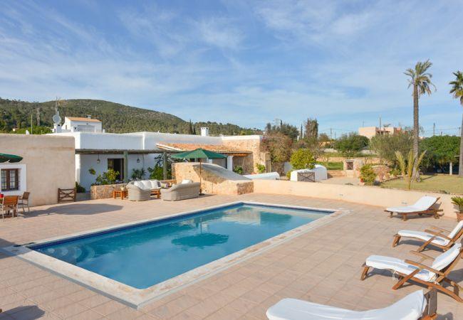 6 bedroom Villa in Sant Jordi De Ses Salines, Ibiza Town, Baleares, Ibiza : ref 2132876 - Image 1 - Sant Miquel De Balansat - rentals