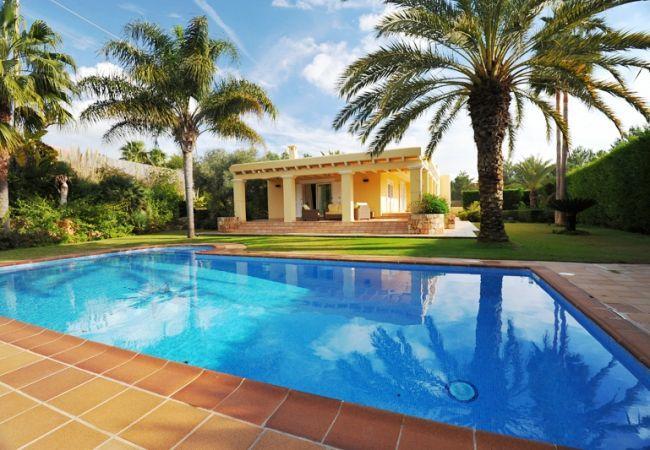 4 bedroom Villa in San Jose, Sant Jordi De Ses Salines, Baleares, Ibiza : ref 2132903 - Image 1 - San Jose - rentals