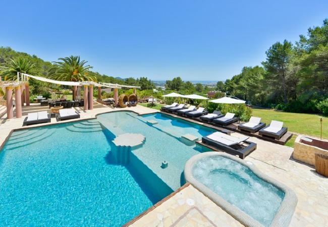 6 bedroom Villa in Ibiza Town, Sant Rafel De La Creu, Baleares, Ibiza : ref 2132916 - Image 1 - Ibiza Town - rentals
