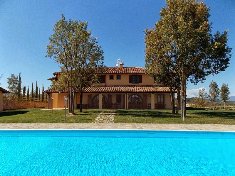 10 bedroom Villa in Terricciola, Volterra And San Gimignano Surroundings - Image 1 - Casciana Terme - rentals
