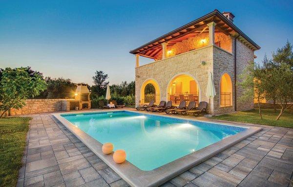 4 bedroom Villa in Krk-Turcic, Island Of Krk, Croatia : ref 2183496 - Image 1 - Vantacici - rentals