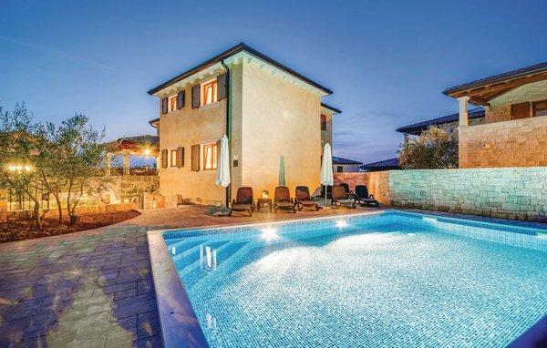 4 bedroom Villa in Krk-Turcic, Island Of Krk, Croatia : ref 2183445 - Image 1 - Vantacici - rentals