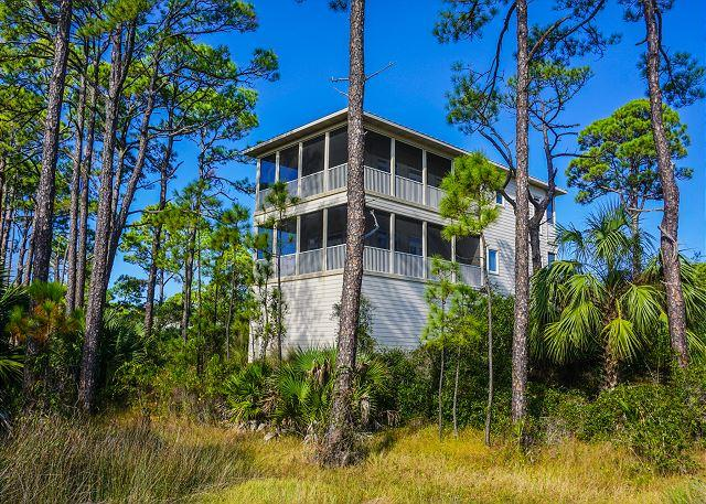 Gloriline - Executive Home Located in Exclusive Cresent Palms - Cape San Blas - rentals