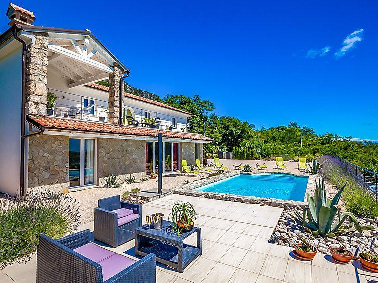 4 bedroom Villa in Crikvenica Barci, Kvarner, Croatia : ref 2215142 - Image 1 - Kamenjak - rentals