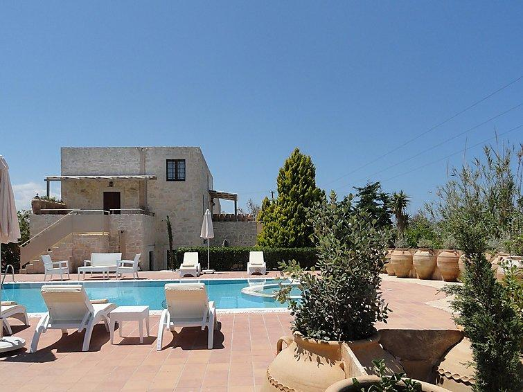 4 bedroom Villa in Gouves, Crete, Greece : ref 2216120 - Image 1 - Piskopiano - rentals