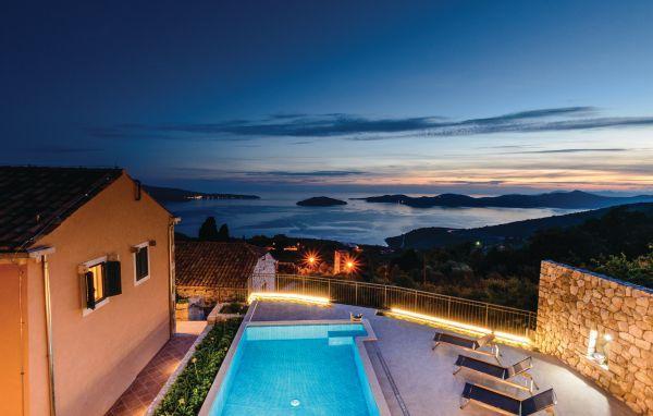 6 bedroom Villa in Dubrovnik-Brsecine, Dubrovnik Riviera, Croatia : ref 2219086 - Image 1 - Trsteno - rentals
