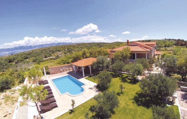 5 bedroom Villa in Pag-Dabovi Stani, Island Of Pag, Croatia : ref 2219093 - Image 1 - Stara Novalja - rentals