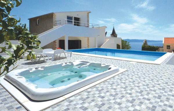 6 bedroom Villa in Makarska-Podgora, Makarska, Croatia : ref 2219981 - Image 1 - Podgora - rentals