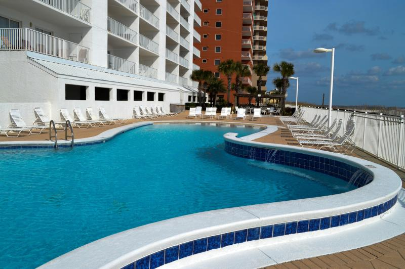 Heated Beach Front Pool - 3 Bed/ 3 Bath Ocean Front Condo - Gulf Shores - Gulf Shores - rentals