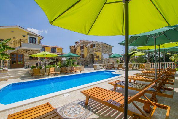 8 bedroom Villa in Labin-Karlici, Labin, Croatia : ref 2238201 - Image 1 - Potpican - rentals