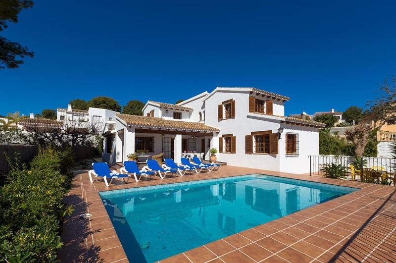 5 bedroom Villa in Moraira, Alicante, Costa Blanca, Spain : ref 2239920 - Image 1 - La Llobella - rentals