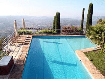 4 bedroom Villa in Grasse, Grasse, France : ref 2244690 - Image 1 - Chateauneuf de Grasse - rentals