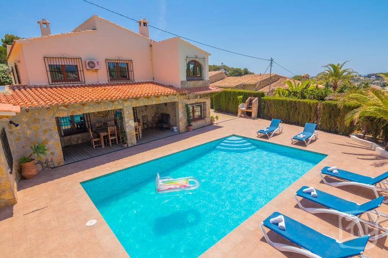 6 bedroom Villa in Benissa, Costa Blanca, Spain : ref 2246614 - Image 1 - La Llobella - rentals