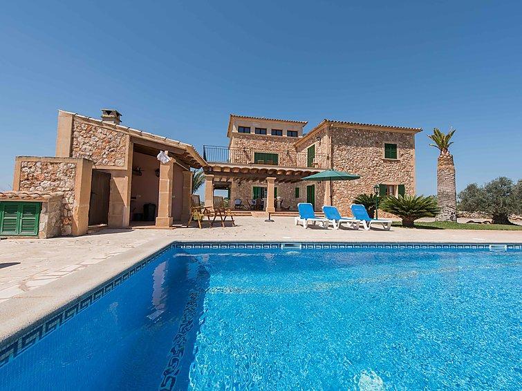 5 bedroom Villa in Cala Santanyí-Figuera-Llombards, Mallorca, Mallorca : ref 2253052 - Image 1 - Es Llombards - rentals